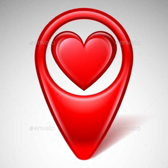GraphicRiver Love Map Pointer 10127081