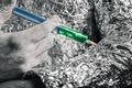 Cyborg applying syringe - PhotoDune Item for Sale
