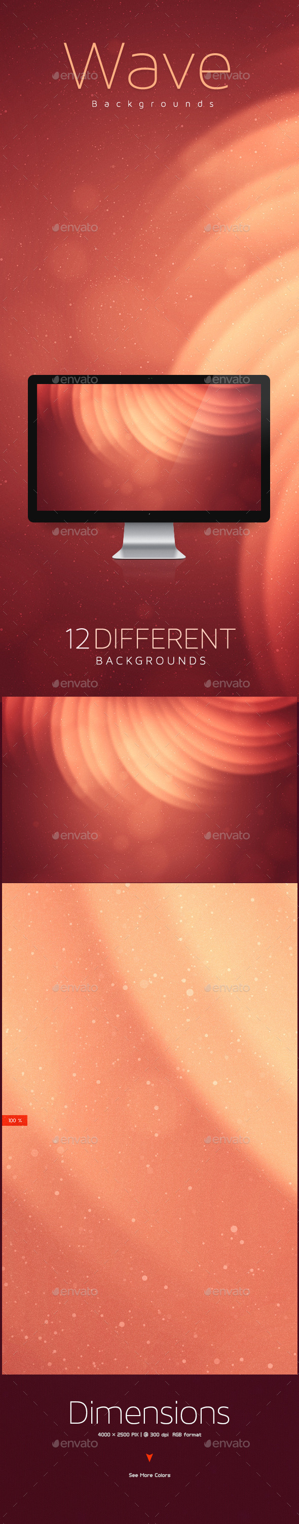 GraphicRiver Wave Abstract Backgrounds 10127179