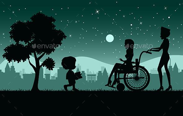 GraphicRiver Wheelchair 10127443