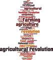Agricultural Revolution Word Cloud Concept - PhotoDune Item for Sale