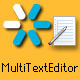 MultiTextEditor - Flash CMS - ActiveDen Item for Sale
