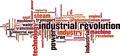 Industrial Revolution Word Cloud Concept - PhotoDune Item for Sale