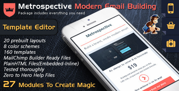 ThemeForest Email Template Builder Modern Responsive Email 10127681
