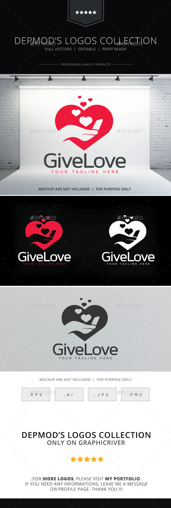 GraphicRiver Give Love Logo 10127735