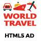 WorldTravel HTML5 Ad