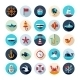 Set of Vintage Nautical Icons - GraphicRiver Item for Sale