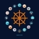 Nautical Icons - GraphicRiver Item for Sale