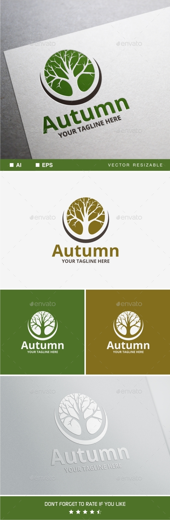 GraphicRiver Autumn Logo 10128104