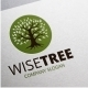 Wise Tree Logo - GraphicRiver Item for Sale