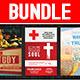 Church Service Flyer Bundle - GraphicRiver Item for Sale