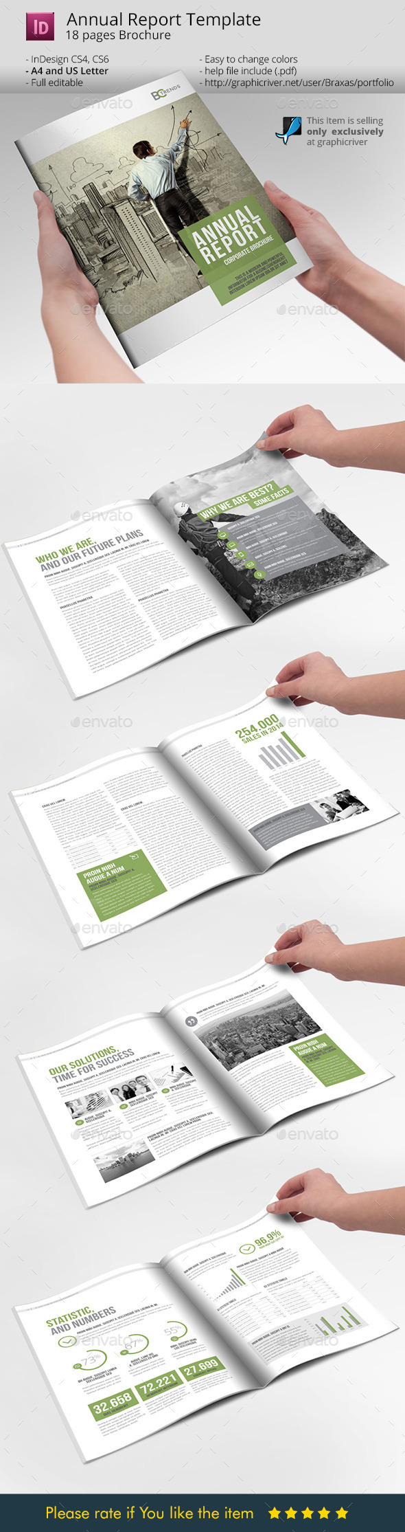 GraphicRiver Business Brochure Annual Report 10128120