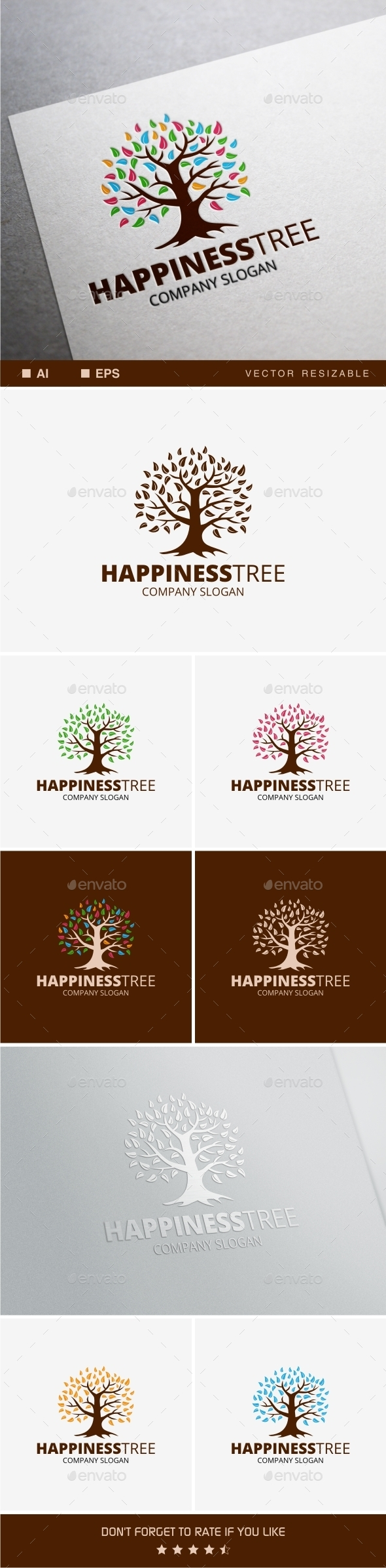 GraphicRiver Happiness Tree 10128121