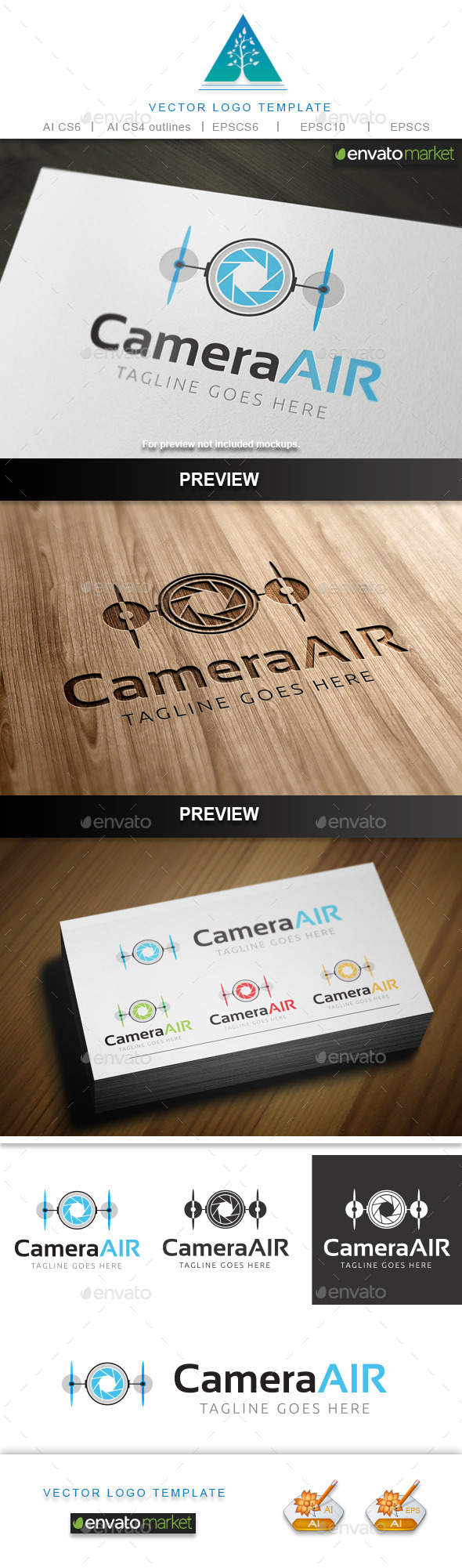 GraphicRiver Camera Air Logo 10128566