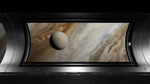 View From Jupiter`s Orbit - 10