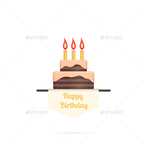 GraphicRiver Birthday Cake 10130045