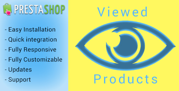 CodeCanyon Scroll animate Viewed Products for Prestashop 10130733