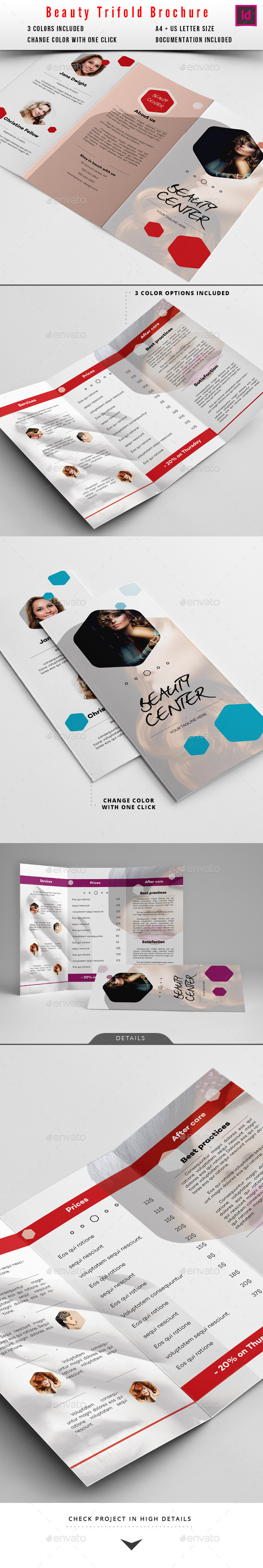 GraphicRiver Beauty Salon Brochure 10130824