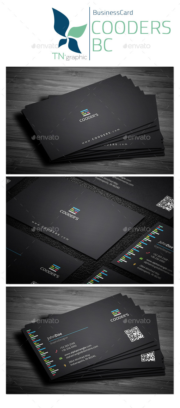 GraphicRiver Cooders Business Card 10131182