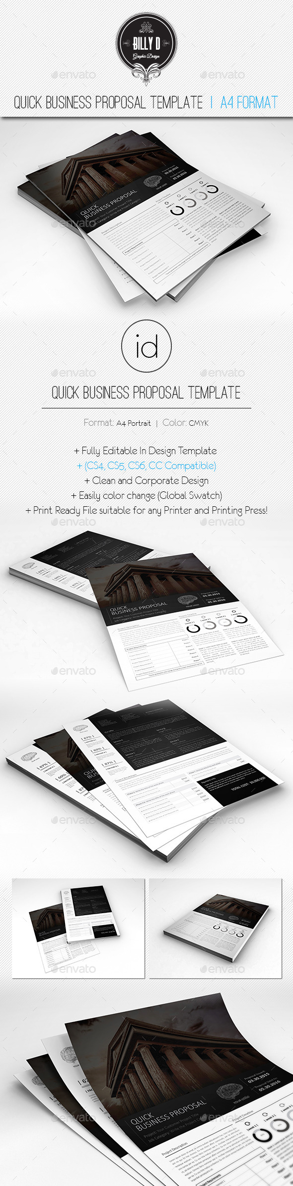 GraphicRiver Quick Business Proposal Template 10131211