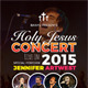 The Worship Church Concert - GraphicRiver Item for Sale