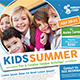 Kids Summer Camp Flyers - GraphicRiver Item for Sale