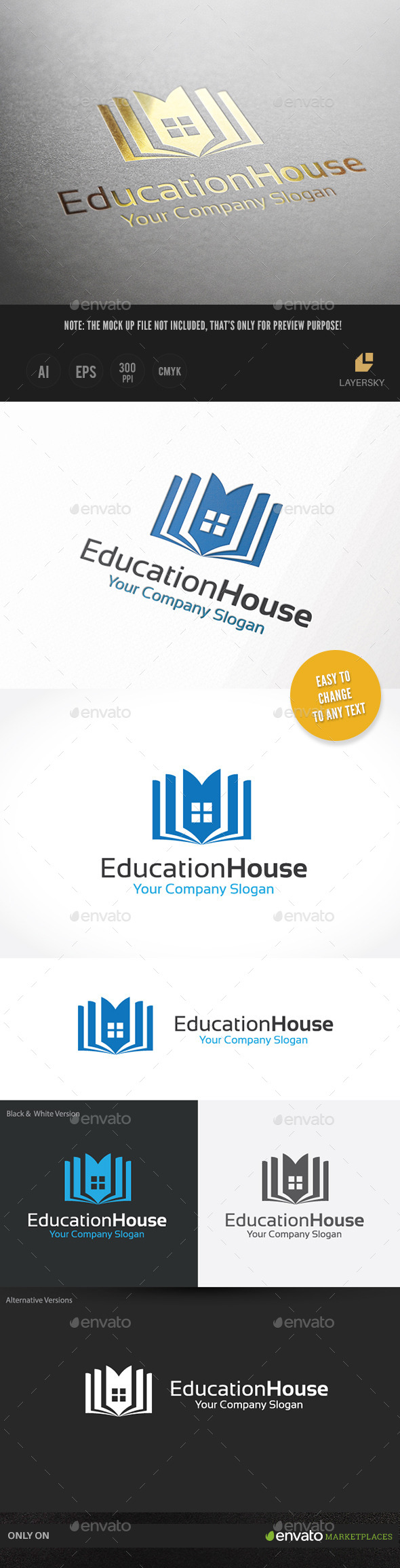 GraphicRiver Education House 10131914