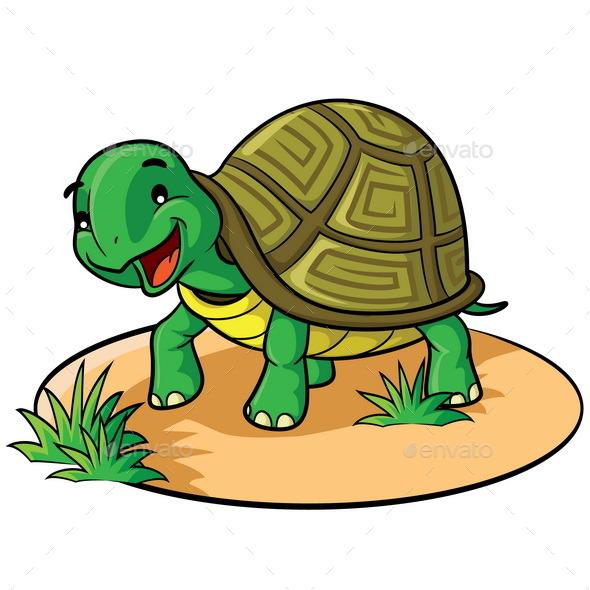 GraphicRiver Turtle Cartoon 10131920