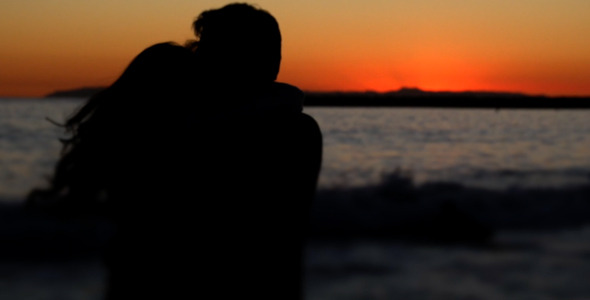 VideoHive Lovers at Beach 10131929