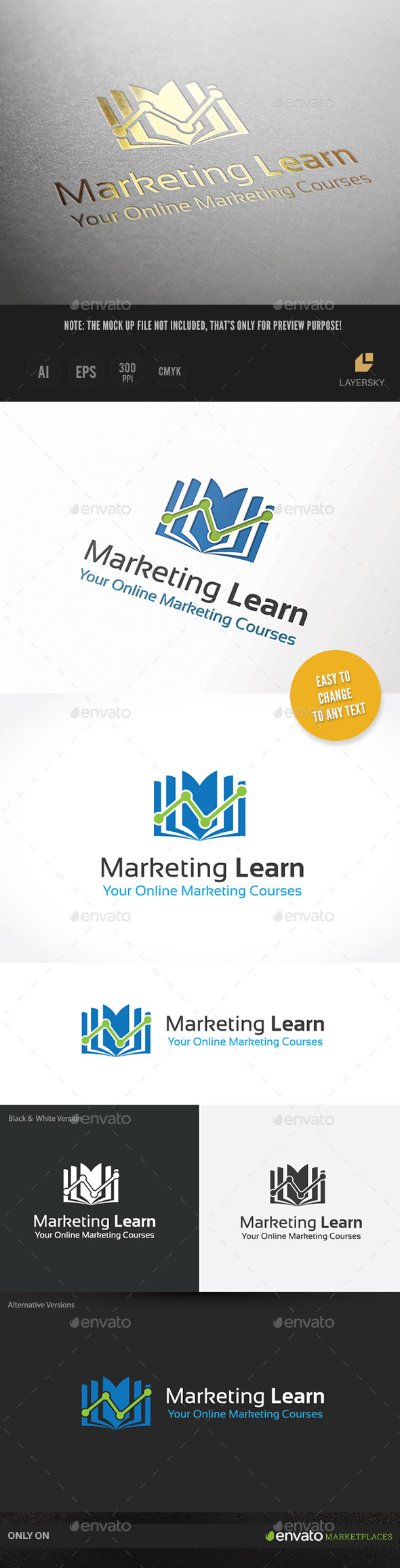 GraphicRiver Marketing Learn 10131972
