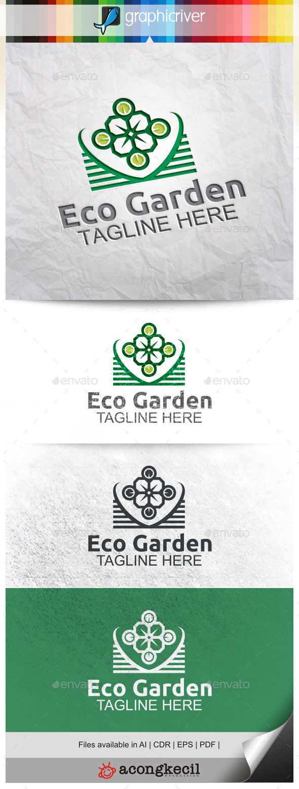 GraphicRiver Eco Garden V.2 10131979
