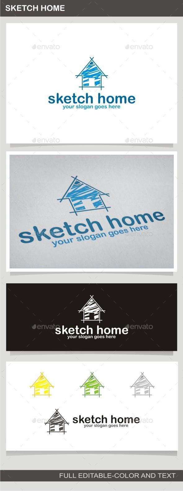 GraphicRiver Sketch Home 10086140