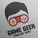 Game Geek Logo Template - GraphicRiver Item for Sale