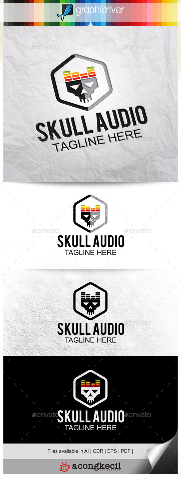 GraphicRiver Skull Audio 10132081