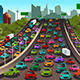 Traffic on a Highway - GraphicRiver Item for Sale