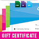 Simple Gift Certificate GD016 - GraphicRiver Item for Sale