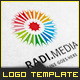 Radial Sun Media - Logo Template - GraphicRiver Item for Sale