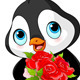 Valentine Day Penguin  - GraphicRiver Item for Sale