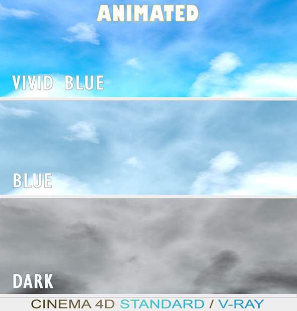 3DOcean Animated Skies 10132365