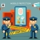 Mobile Phone Protection - GraphicRiver Item for Sale