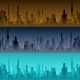 Cityscape Backgrounds - GraphicRiver Item for Sale