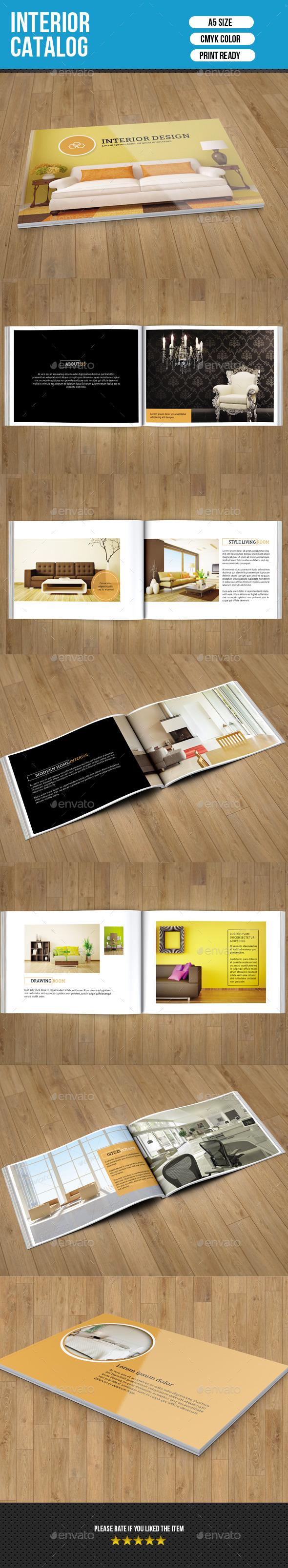 GraphicRiver Interior Catalog Brochure-V144 10132915