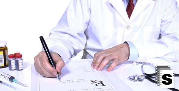 VideoHive Medical Prescription In Office 10133462