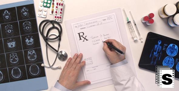 VideoHive Medical Prescription 3 10133480