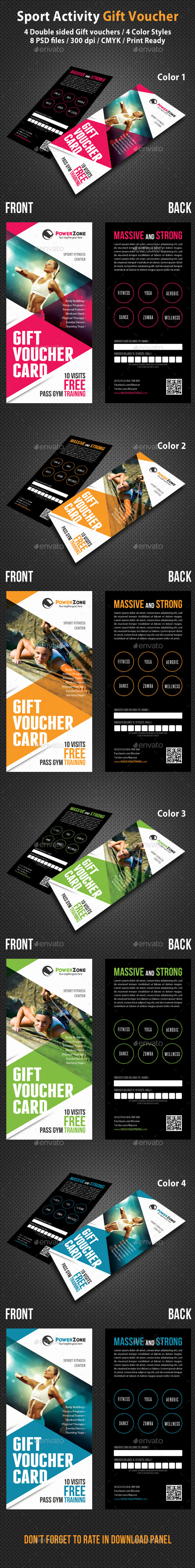 GraphicRiver Sport Activity Gift Voucher 03 10133486
