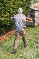 Gardener carrying wood - PhotoDune Item for Sale
