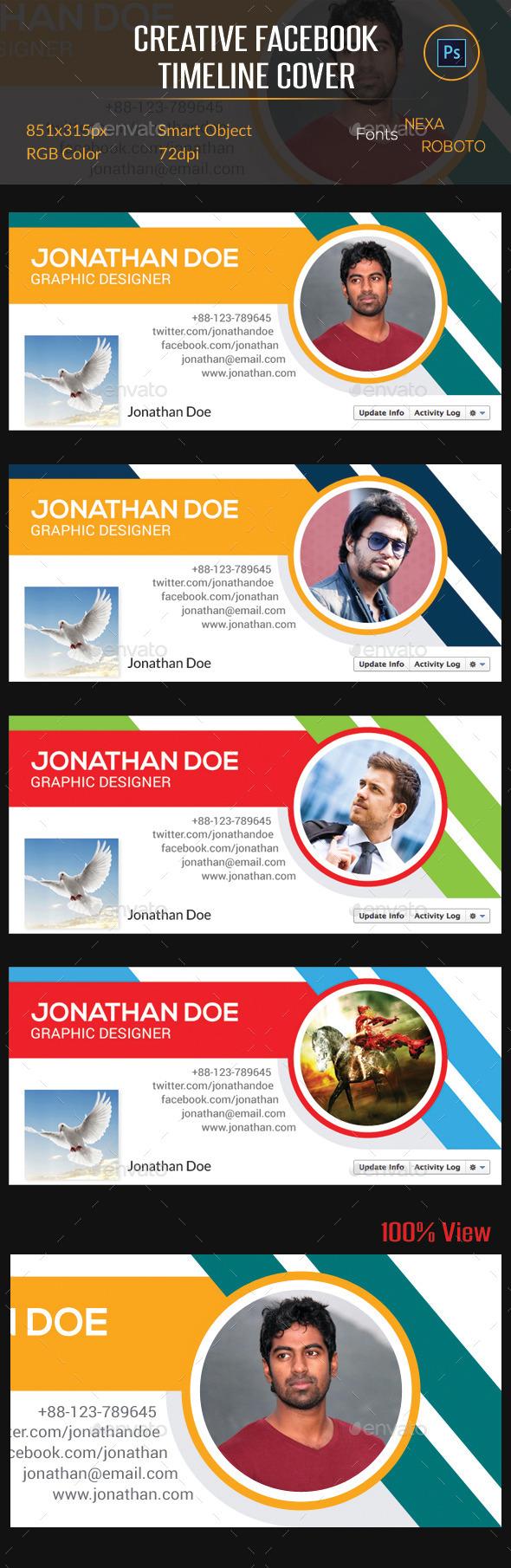 GraphicRiver Creative Facebook Timeline Cover 10134049
