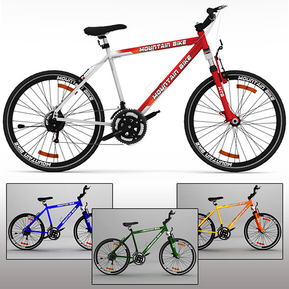 3DOcean Mountain Bike MTB 10134091