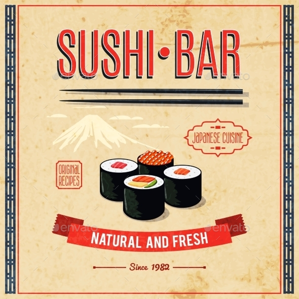 GraphicRiver Asian Food Poster 10134106