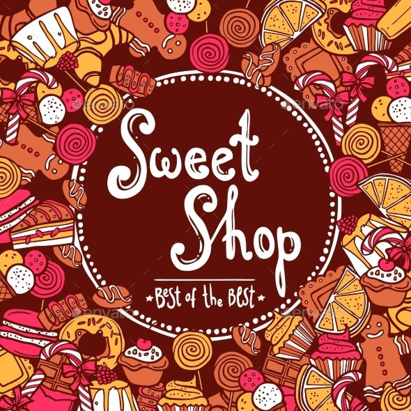 GraphicRiver Sweet Shop Background 10134112